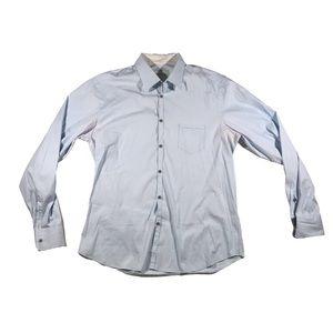 Aglini shirt makers stretch men's dress shirt